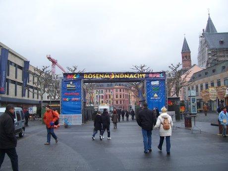 Das Festtor, Höfchen, Mainz, Quelle: T.D., 21.02.2009