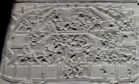 Tabula Iliaca Capitolina, Ausschnitt