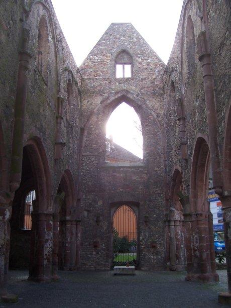 St. Christoph, Mainz, Langhaus von Osten; Quelle: T.D.